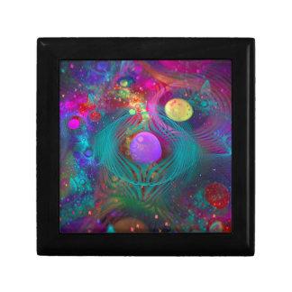 Galaxy Art Small Square Gift Box