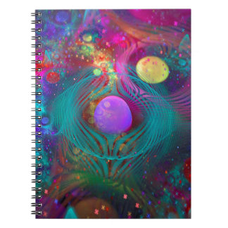 Galaxy Art Spiral Notebook