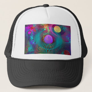 Galaxy Art Trucker Hat