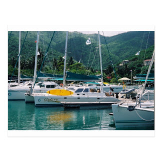 Galaxy at Nanny Cay-Tortola Postcard