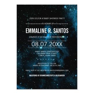 Galaxy Baby Shower Invite