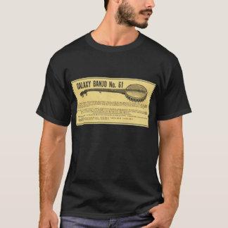 Galaxy Banjo Men;s dark short sleeve T-Shirt