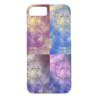 Galaxy Bear: Heart iPhone 7 Case