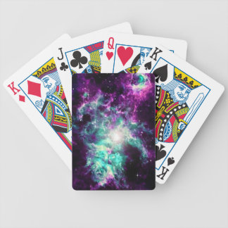 galaxy bicycle playing cards