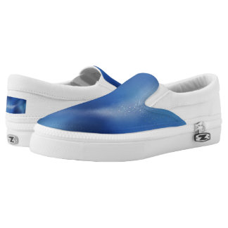 Galaxy Blue Slip On Shoes