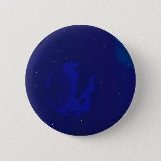 Galaxy Blur 6 Cm Round Badge