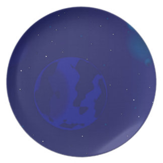 Galaxy Blur Plate