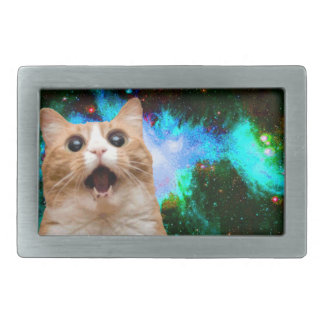 GALAXY CAT BELT BUCKLE