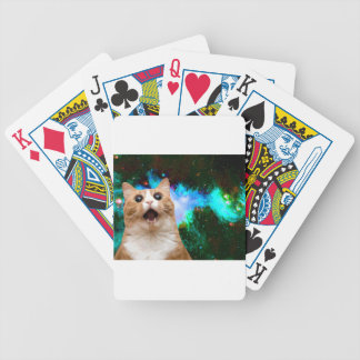 GALAXY CAT BICYCLE PLAYING CARDS