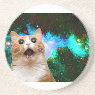 GALAXY CAT COASTERS