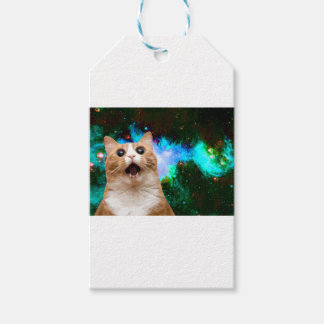 GALAXY CAT GIFT TAGS