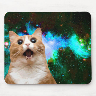 GALAXY CAT MOUSE PAD
