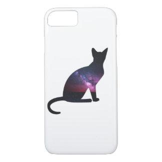Galaxy Cat Phone iPhone 8/7 Case