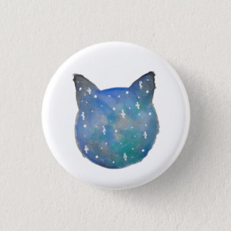 Galaxy Cat Pinback Button
