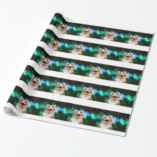 GALAXY CAT WRAPPING PAPER