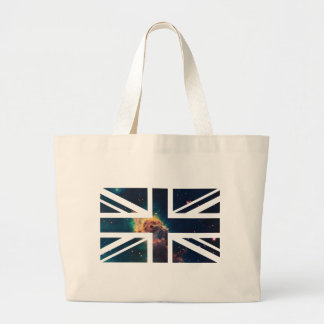 Galaxy Cloud Union Jack British(UK) Flag Bags