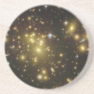 Galaxy Cluster Abell 1689 in Constellation Virgo Coaster