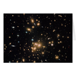Galaxy Cluster and Gravitational Lens Abell 1689 Card