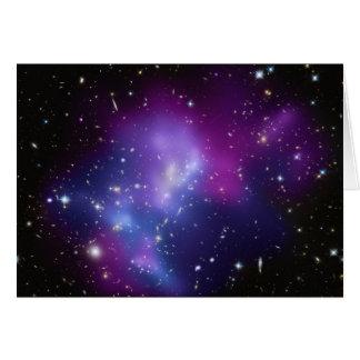 Galaxy Cluster MACS J0717 Card