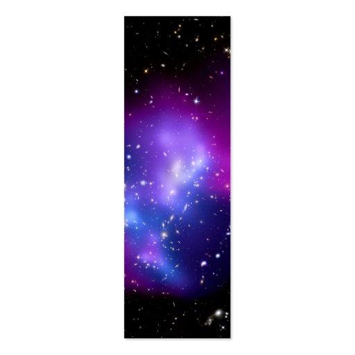 Galaxy Cluster MACS J0717 (Hubble Telescope) Business Card Templates