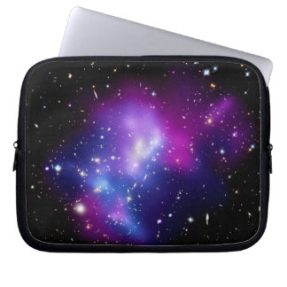 Galaxy Cluster MACS J0717 Outer Space Photo Laptop Sleeve
