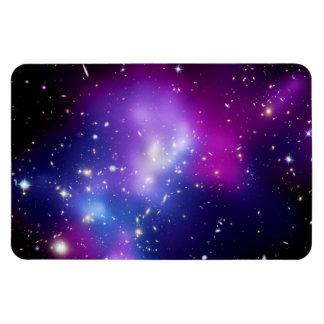 Galaxy Cluster MACS J0717 Rectangular Photo Magnet