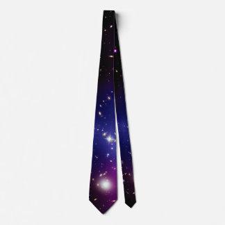 Galaxy Cluster MACS J0717 Tie