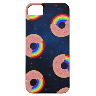 Galaxy Donut Rainbows iPhone 5 Covers