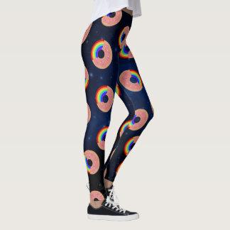 Galaxy Donut Rainbows Leggings