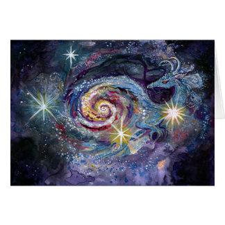 Galaxy Dragon Card