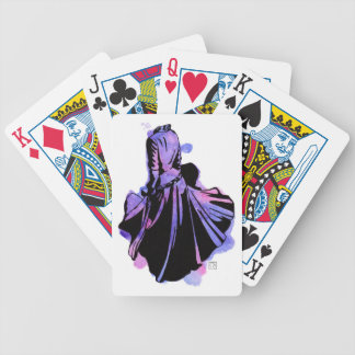 Galaxy Dress Bicycle Playing Cards