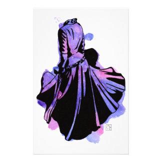Galaxy Dress Stationery