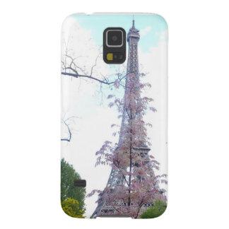 Galaxy Eiffel Tower phone cover