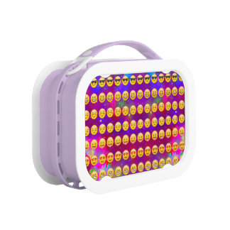 Galaxy Emojis Lunch Box