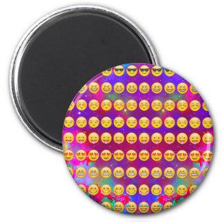 Galaxy Emojis Magnet