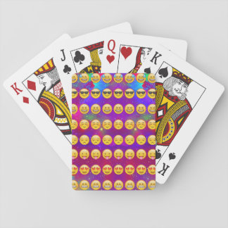 Galaxy Emojis Playing Cards