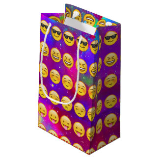 Galaxy Emojis Small Gift Bag