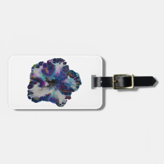 Galaxy Flower - luggage tag