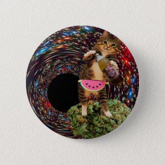 galaxy hole katz 6 cm round badge