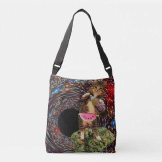 galaxy hole katz crossbody bag