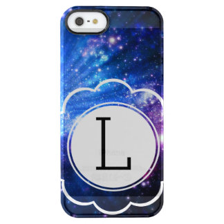 Galaxy Initial Clear iPhone SE/5/5s Case