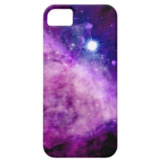 Galaxy iPhone 5/5S Case Stars Nebula Purple Pink