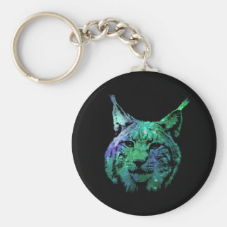 Galaxy Lynx | 3D effect design Key Ring