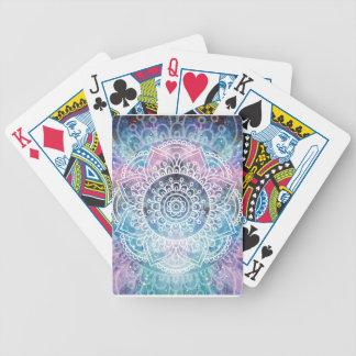 Galaxy Mandala Bicycle Playing Cards