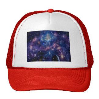 Galaxy Mesh Hat