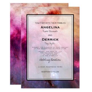 Galaxy Modern Wedding Invitation