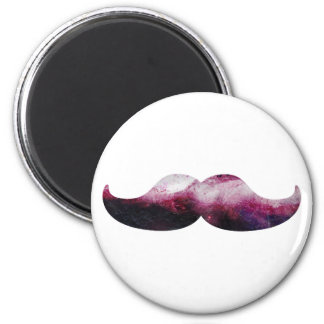 Galaxy Moustache Refrigerator Magnets