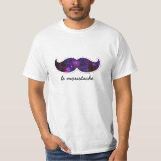 galaxy moustache T-Shirt