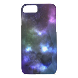 Galaxy Nebula Cat Phone Case