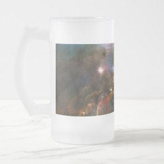 Galaxy Nebula Nebulae Supernova Star Explosion Frosted Glass Mug
